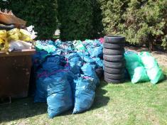 Deň zeme 2012, zber smeti Oľdza 22.apríla 2012